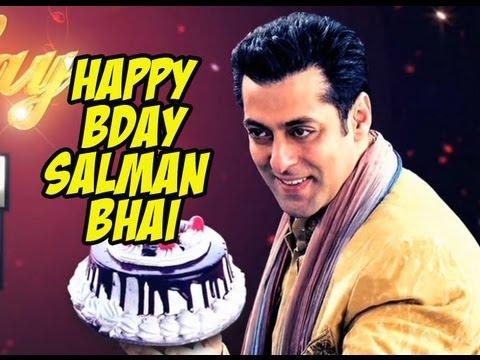 My All time favorite Hero  SALMAN KHAN. Happy Birthday my sallu bhaijaan