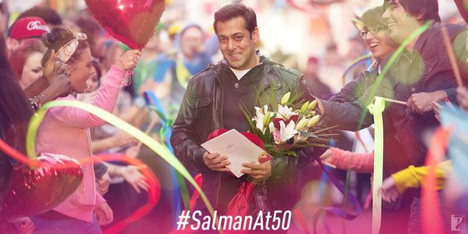 The undisputed Sultan of Bollywood! Wishing Salman Khan a very Happy Birthday!