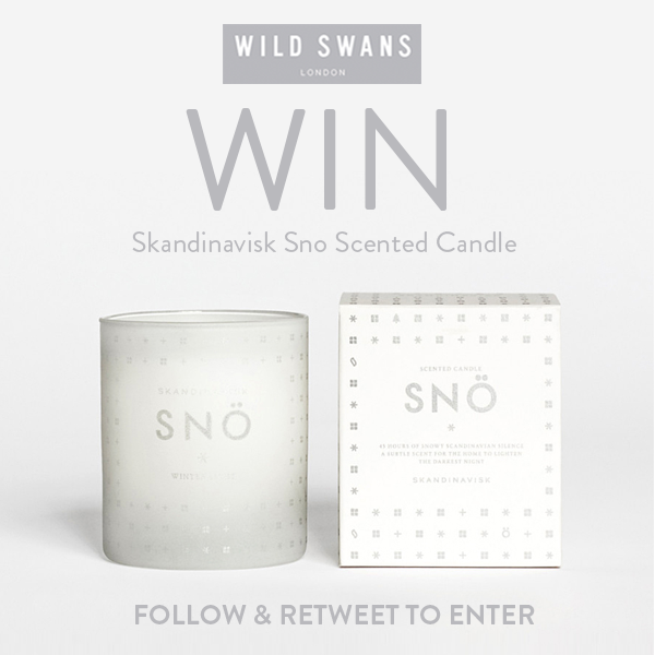 #WIN #SkandinaviskCandle from @Wild_Swans #RT #FOLLOW #COMPETITION #GIVEAWAY https://t.co/26COM3QV48 https://t.co/Vm0gcbsMSR