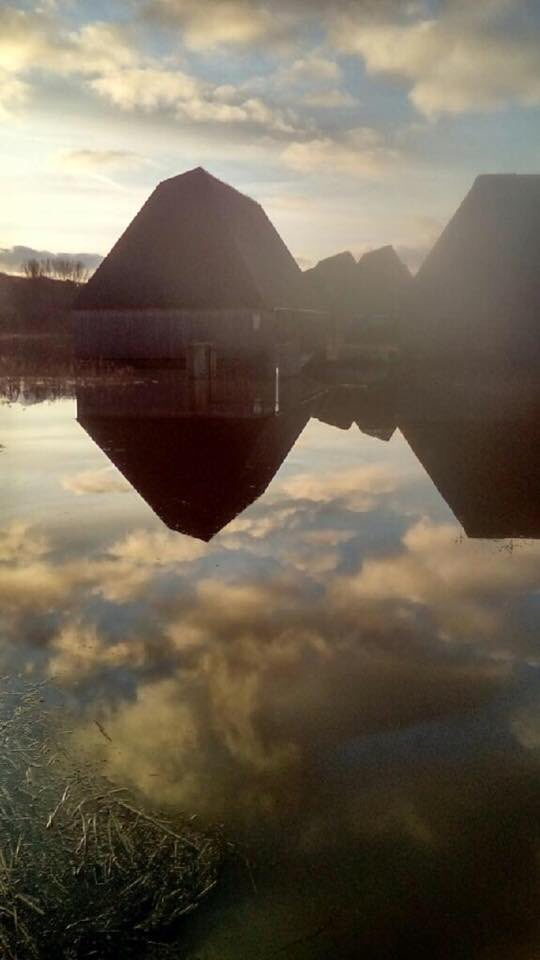 Brockholes floating design has saved the building from severe flood damage @RIBA https://t.co/MQMPW1H48h