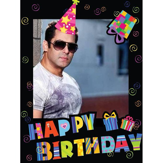 Happy 50th birthday salman khan sir...may God bless you...lots of love and blessing for u.....