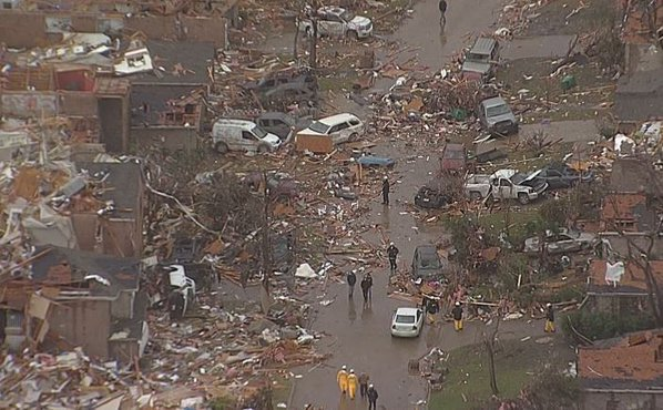 The view of Rowlett from Chopper 5 this morning. #dfwwx https://t.co/Jobwc9njma