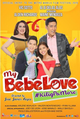 #MMFF2015 3rd Best Picture goes to  My Bebe Love #KiligPaMore #MMFF2015AwardsNight  | via @mmfilmfest https://t.co/M1kCSxVaVp