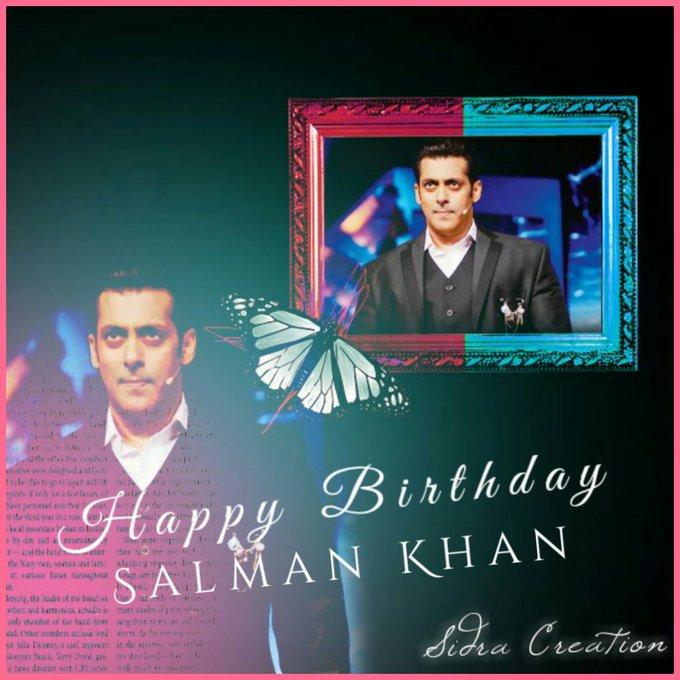 Happy Birthday Salman Khan..!!