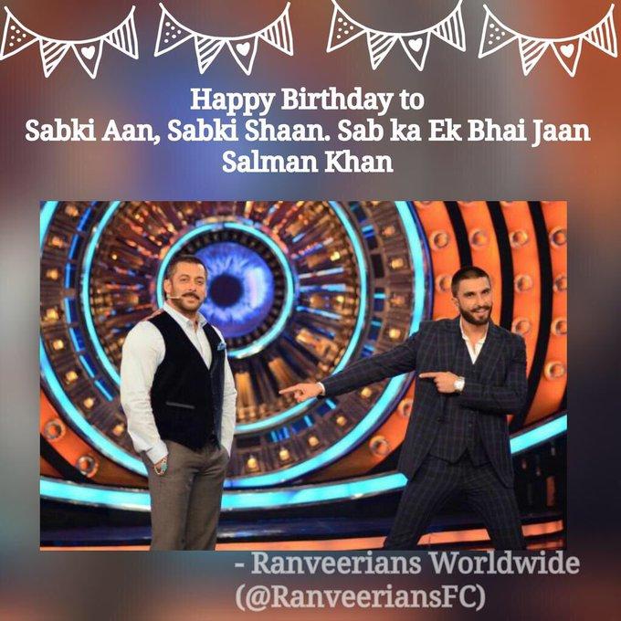 Happy Birthday to Sabki aan,sabki shaan. Sab ka ek Bhai-jaan Mr. Salman Khan