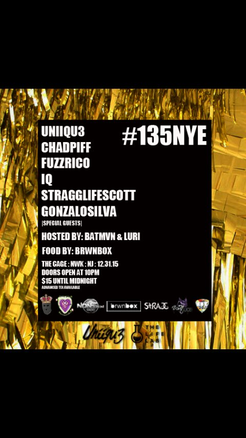 """#135NYE #TheCage NYE """"Mahogany - Chad Piff ft. P.Carrera"""" on  https://t.co/Gt7zPh9j8B #Party"""