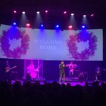 Here @MosaicLA for the 1st time. Enjoying the atmosphere. God is good. Thanks for providing a place of worship. https://t.co/UYeCDIa69t