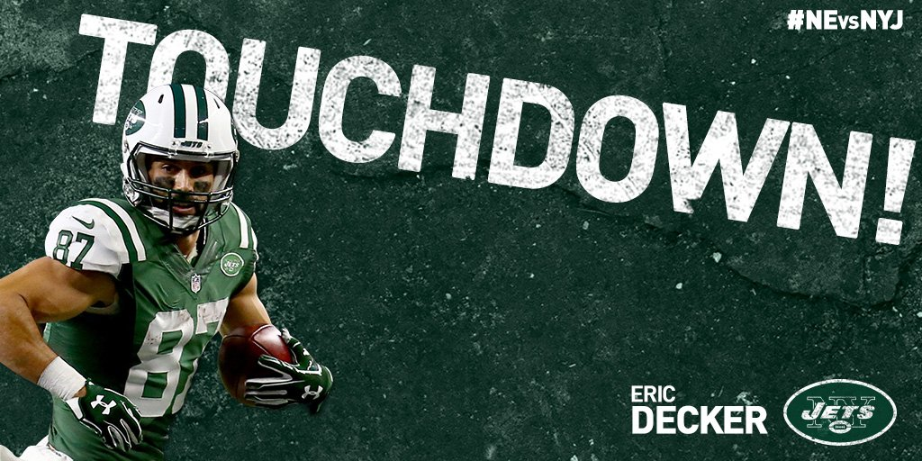 THAT'LL DO IT!  FITZ TO @EricDecker87   #JETS WIN! #NEvsNYJ https://t.co/vdkZFNnwgV