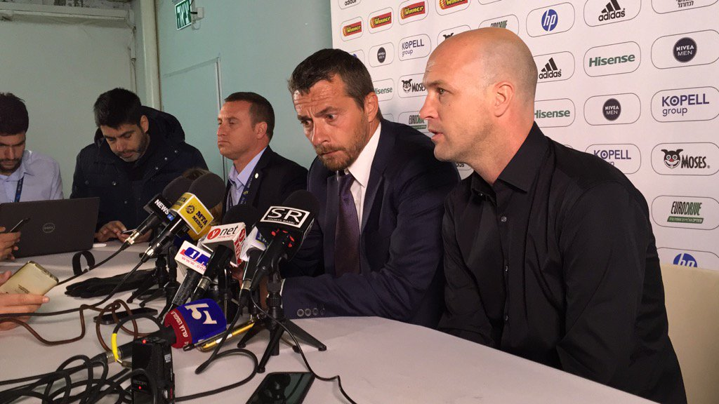 Maccabi Tel Aviv technical director Jordi Cruyff announces Slavisa Jokanovic's departure to Fulham https://t.co/NTp7NbnDsX