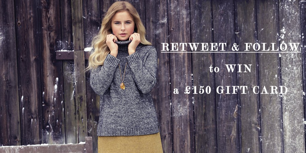 Christmas is over but here's something to cheer you up...! RT & Follow for the chance to #WIN a £150 gift card! https://t.co/YbUUscXfJO