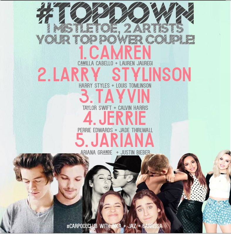 Can you feel the love? Checkout whose under the #topdown mistletoe @_jazreyes @inka995 @Carrissa995 https://t.co/xL57CK5JCp