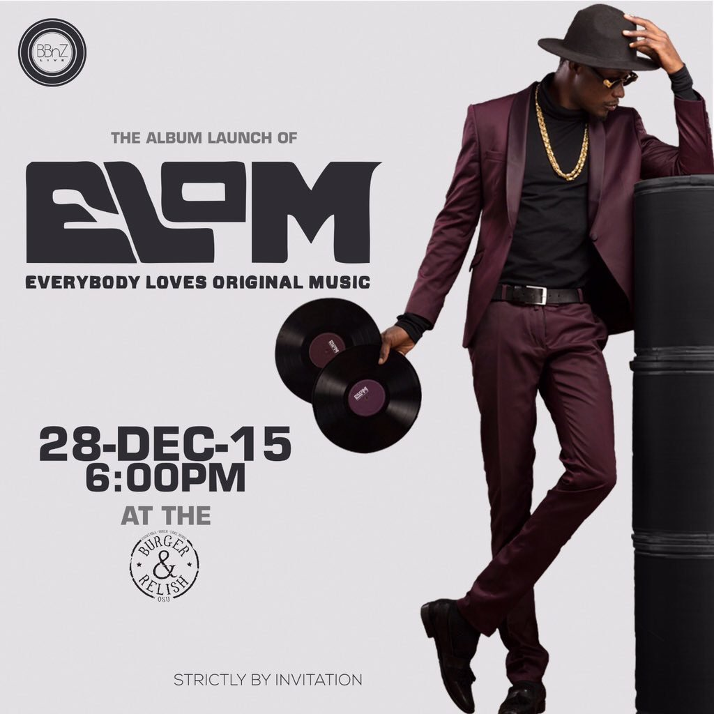 Supporting the big bro @ELrepGH at his album launch tonight! #ELOM. https://t.co/6rcCHLuSOt