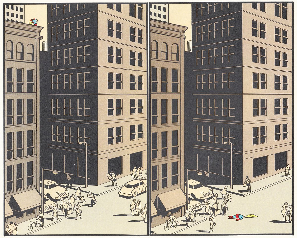 happy 48th to chris ware, a smart, gracious man whose work was so good so early comics changed itself around him -- https://t.co/GQDmmKLIyB