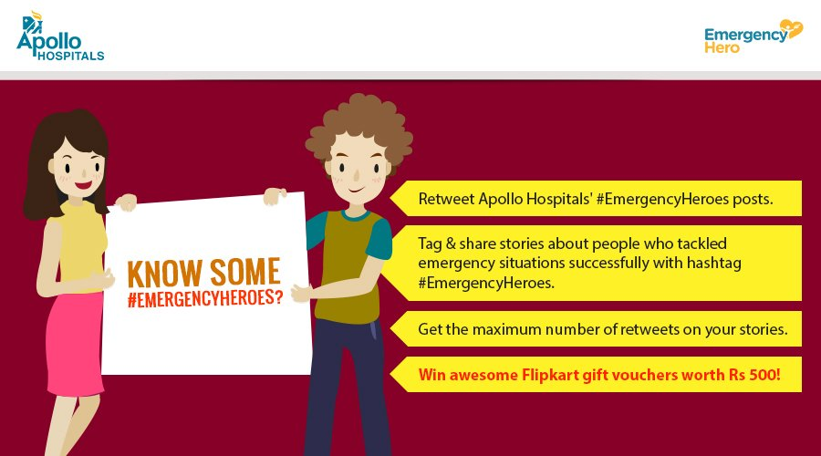 Tell us about your #EmergencyHeroes. Participate in the #EmergencyHeroes #contest & win #free Flipkart vouchers! #RT https://t.co/vvxU9pn2Vz