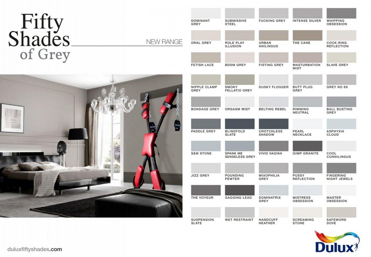 pub tout en nuance de gris d un marchand de peintures pour en faire voir de toutes les couleurs. Black Bedroom Furniture Sets. Home Design Ideas
