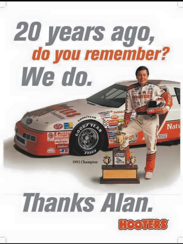 23 years ago.........The Champ @jwlpc @nascarvet @toomuchcountry @RMinENC @Gbp43 @bakerracingpix https://t.co/taInrhfId6