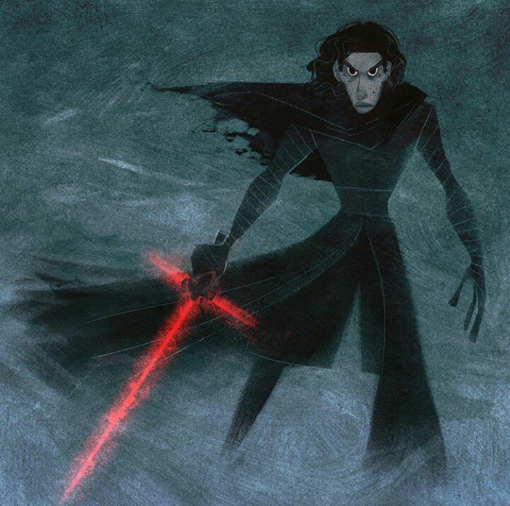 Lovely Kylo Ren by Meg Park https://t.co/1abq82EZMW https://t.co/B4pk83p8wW