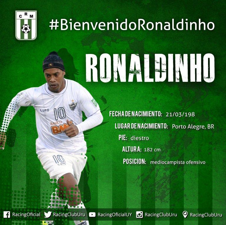 el jugador ronaldino: