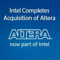 It's official – Altera is now part of Intel https://t.co/JCuzNw7PsQ https://t.co/c5VpaULkif