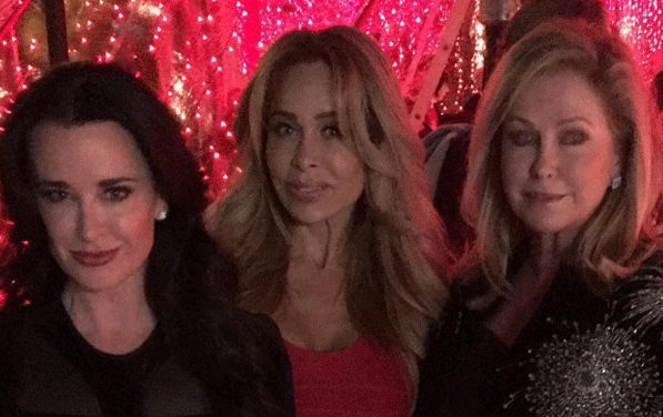 Don't let Kyle Richards and Kathy Hilton's Christmas reunion pic fool you.
