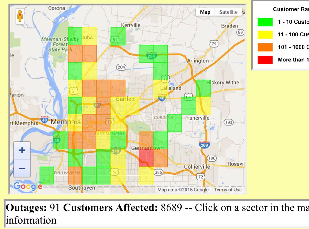Mlgw Power Outage Map ~ CVLN RP