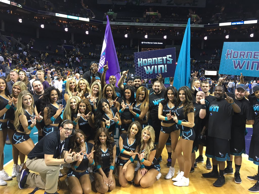 Hornets WIN! https://t.co/eiTsnhq5yr
