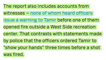 Police lied abt warning #TamirRice 3 times—not even cited for lying https://t.co/ilIcJK77we https://t.co/Ayil9fDXJS https://t.co/Yne8c2PPYJ
