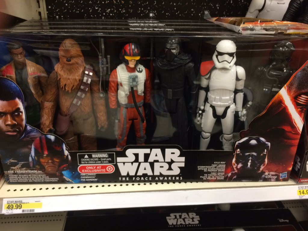 WHEW they included a random trooper & pilot. I was worried i'd see actual characters Rey or Phasma. #TheForceAwakens https://t.co/kPza3vmJ26