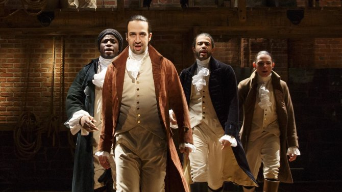 Broadway box office: Hamilton, SchoolOfRock, familiar favorites boost Christmas sales