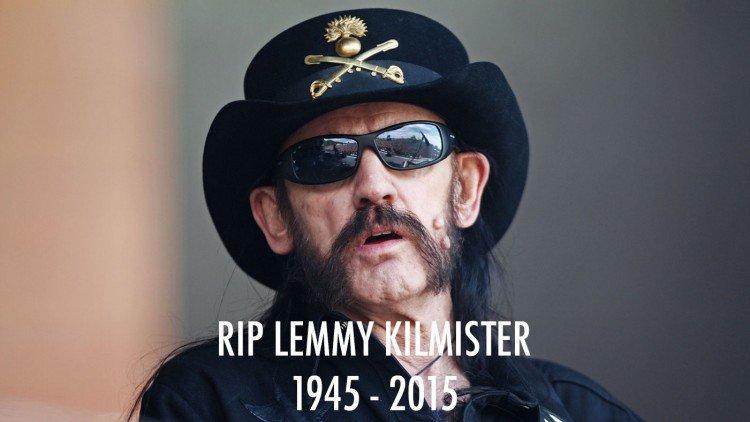 RIP MOTORHEAD Frontman Lemmy Kilmister, 1945 - 2015 https://t.co/K33xlGlkBm https://t.co/TWLafETSi2