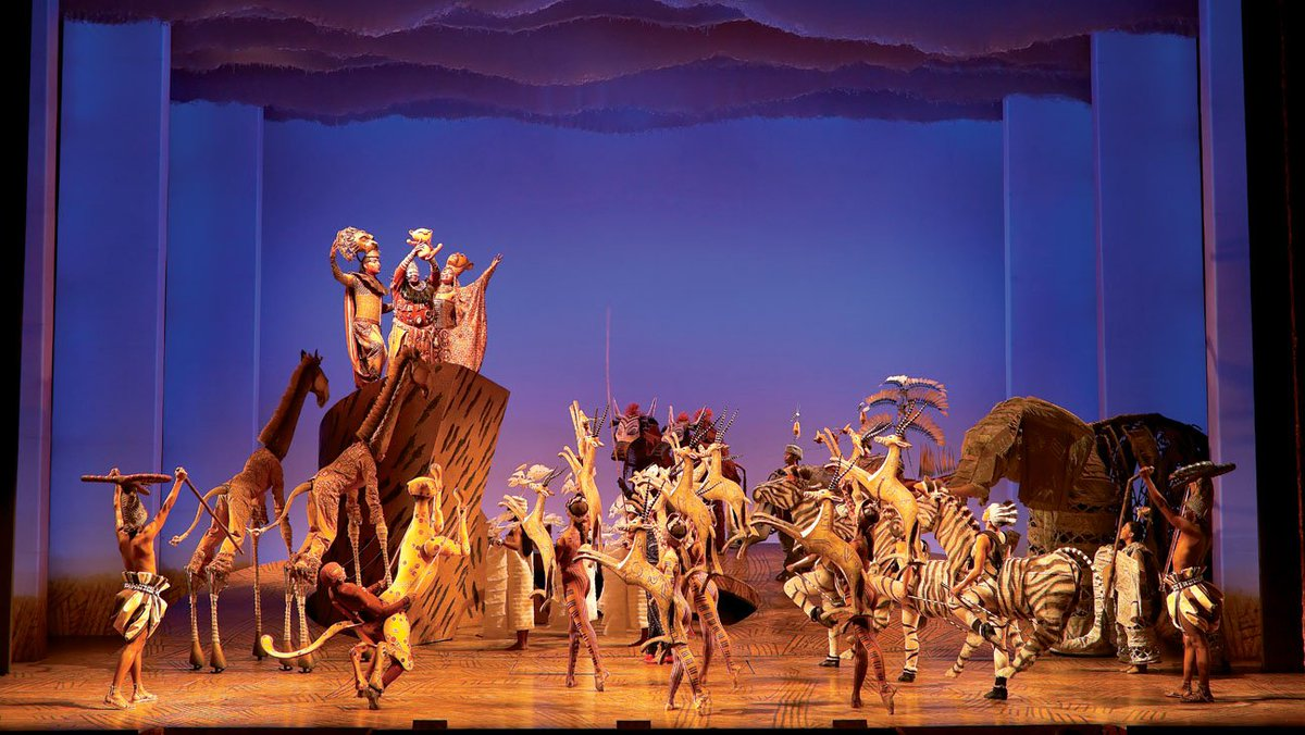 'The Lion King' rules Broadway holiday box office, but Christmas-week total down from 2014
