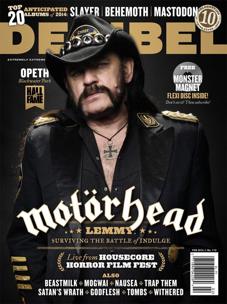 Jack and Cokes for Decibel tonight. Raise hell enterally, Lemmy. #motorhead #lemmy #rip https://t.co/HG8kixtbcU