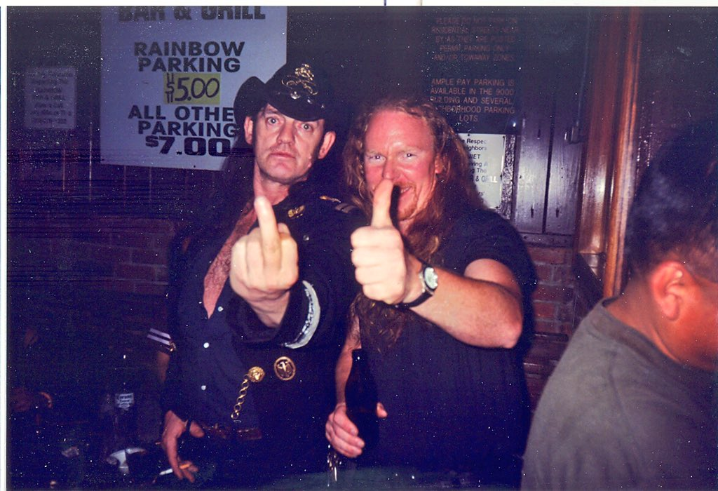 Like every Motörhead fan, I always thought Lemmy would live forever, at least his music will. RIP Lemmy @myMotorhead https://t.co/DSjlDvn6AU