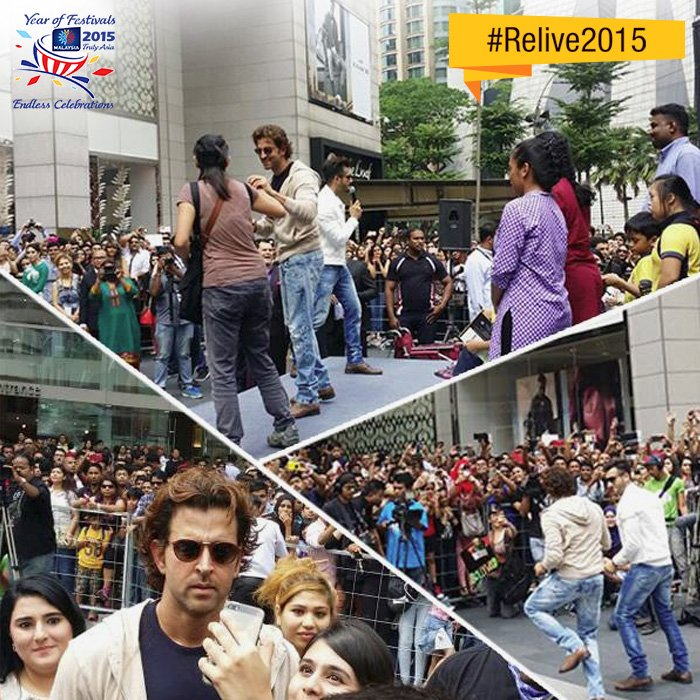 Remember when Hrithik Roshan danced in Malaysia? #Relive2015 https://t.co/tTzDMCL8UM