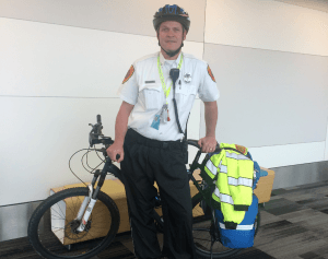 RT @EMS1: Paramedics @flySFO learn bike response before
