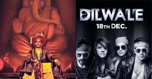 .@ranveerofficial 's '#Bajirao Mastani' races ahead of @iamsrk 's '#Dilwale' https://t.co/BKLZCg2p2H https://t.co/2HzzRT23mD