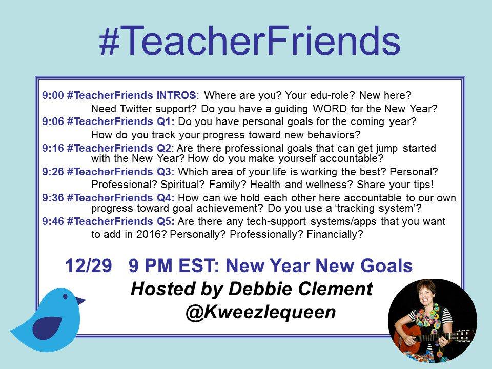 #TeacherFriends Tonight informal chat/conversation/visit on goal setting. Here's outline. Please ReTweet. https://t.co/CM8S9dZV2y