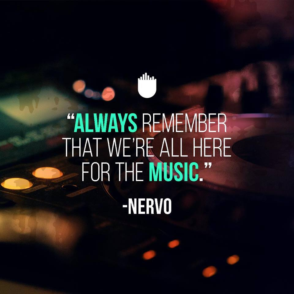 """""""Always remember that we're all here for the music"""" - @nervomusic https://t.co/wxLoOHuvzw"""