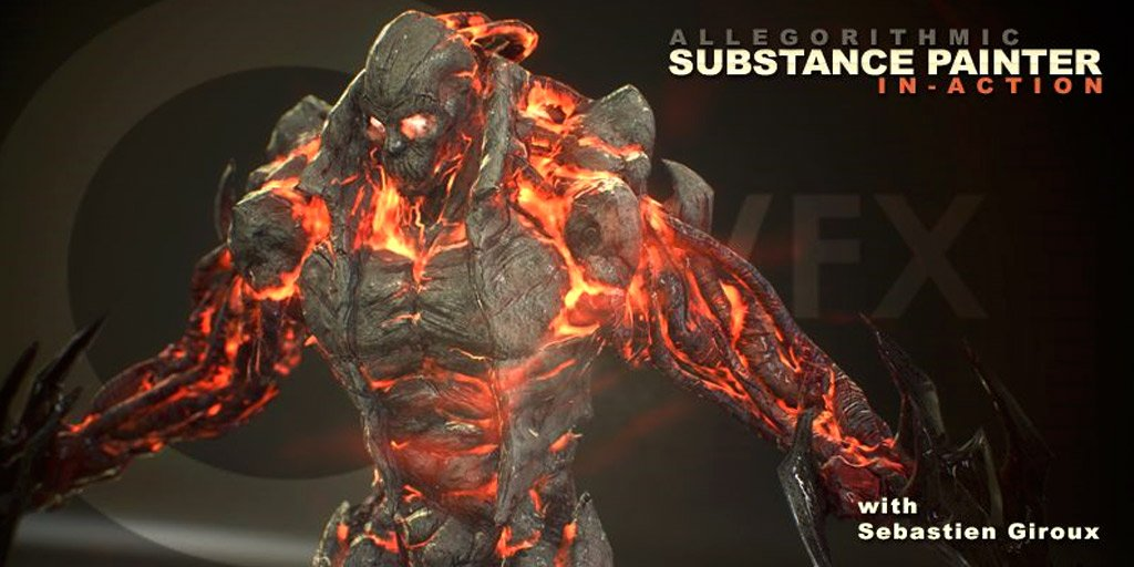CmiVFX releases Substance Painter In Action https://t.co/W4WZhUFwpZ by Sebastien Giroux https://t.co/2OZpw4Y8pI