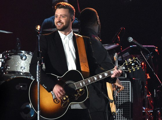 Justin Timberlake is bringing sexy back. As in himself: