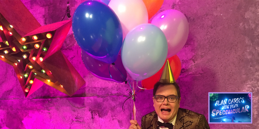 RT @chattyman: TWO SLEEPS! Join us for a #Specstacular New Year's Eve P-A-R-T-Y at 9pm @Channel4! ???????????? Sam x https://t.co/kw5sHNZyf5