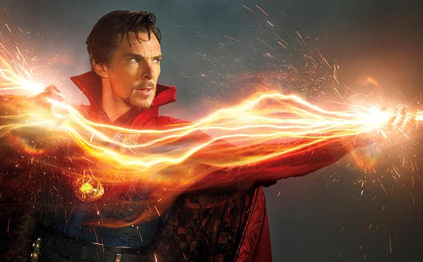 .@Marvel Studios boss @Kevfeige explains the powers of Benedict Cumberbatch's