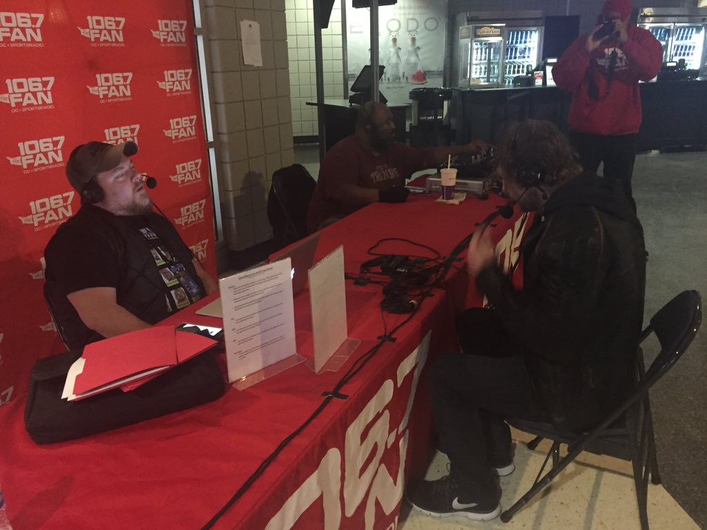 """The Lunatic Fringe"" Dean Ambrose joins @chaddukes right now on #CDVTW! #AmbroseAsylum https://t.co/kgZxPZIZQN"