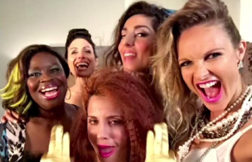 #PromNightRocks tonight's selfie on #GG2D @unfoRETTAble @LisaEdelstein @Alannaubach @zadegan @beaujgarrett https://t.co/MVs2hcIBKR