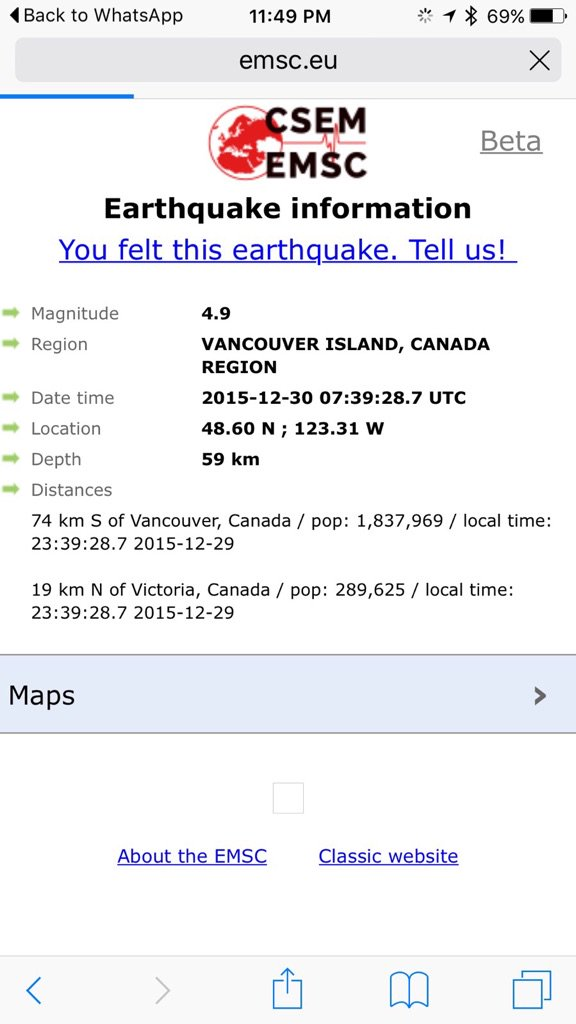 #earthquake in Vancouver area measured 4.9 https://t.co/nfYx4ZPxRD