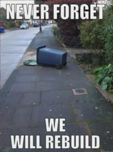 WE WILL REBUILD. #Vancouver #earthquake https://t.co/xL84xrWBSy
