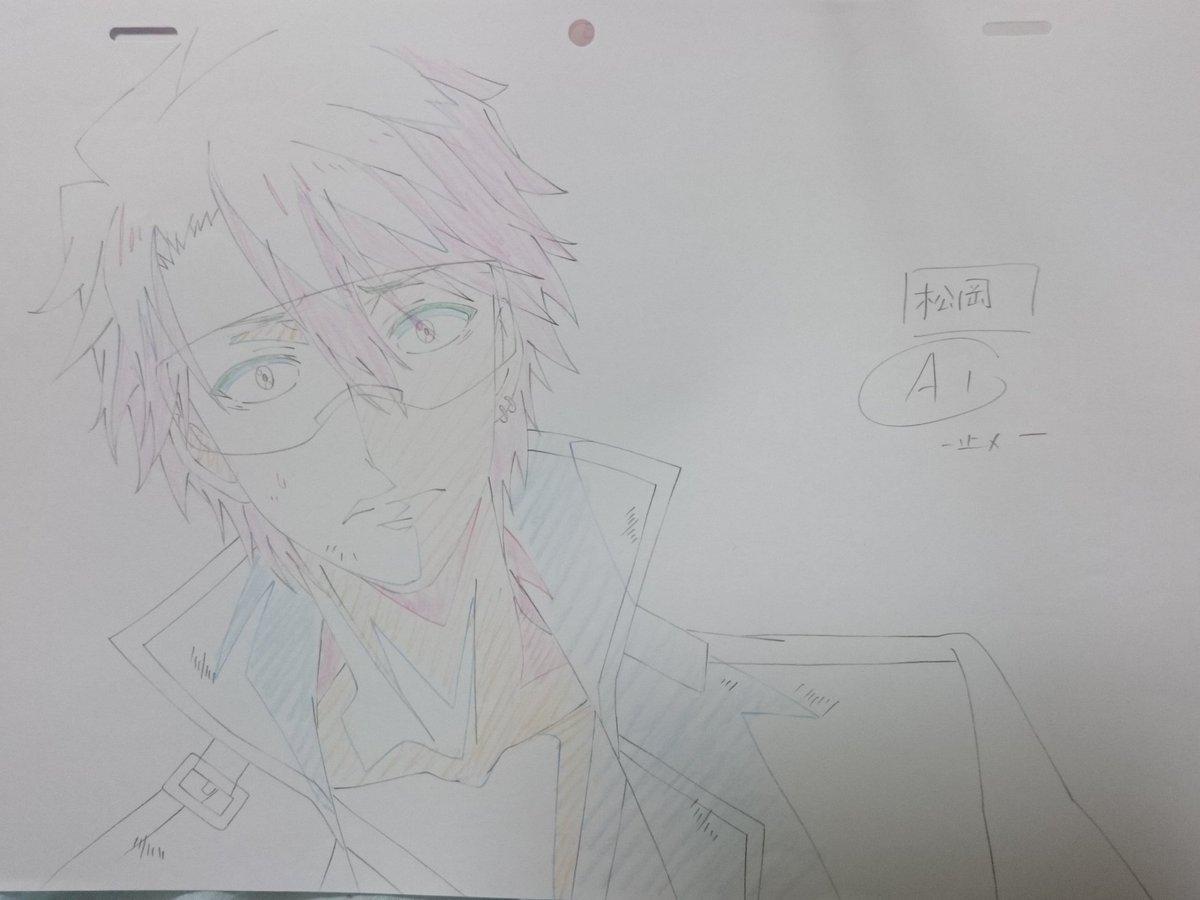 青春×機関銃の生原画は、松岡さんでした。