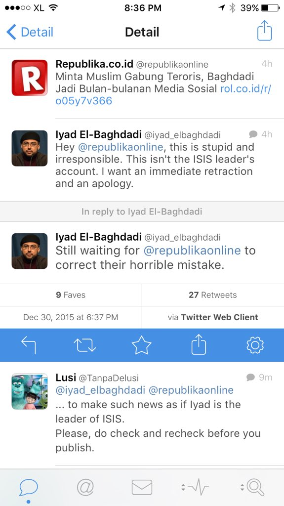 Indonesian media mistakes Arab Spring activist @iyad_elbaghdadi for Daesh leader https://t.co/w5SFcpLCW1