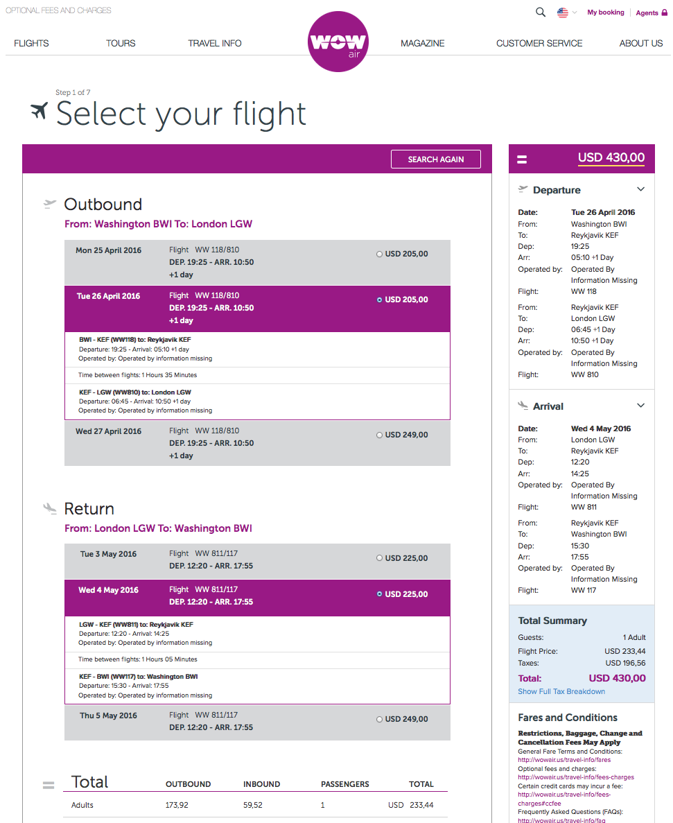RT @airfarewatchdog: Baltimore BWI to London LGW $430 round-trip for spring travel on @WOW_air