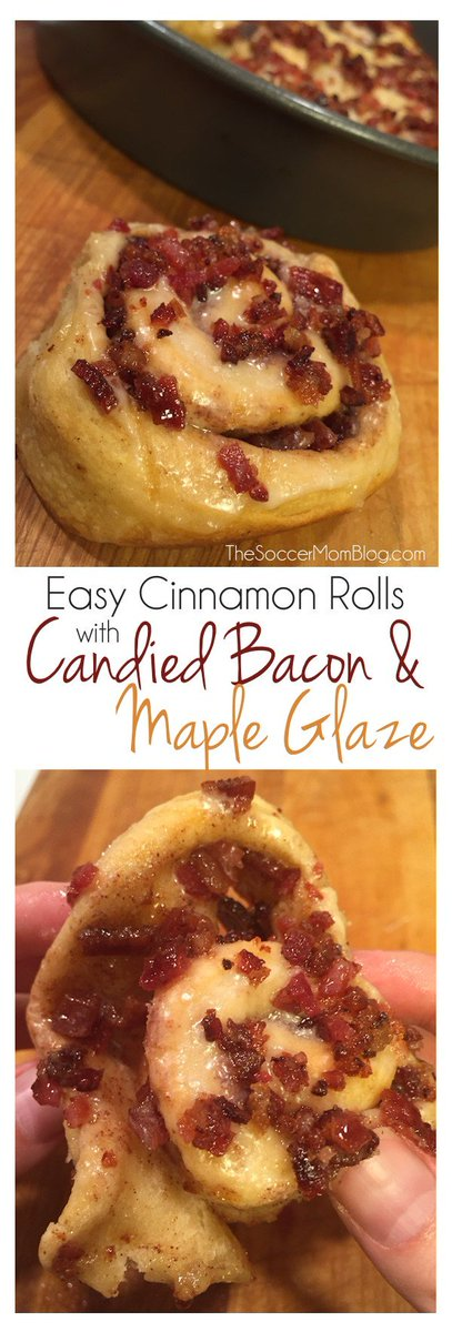 Easy Cinnamon Rolls with Candied Bacon & Maple Glaze with @Pillsbury https://t.co/MSx5oKhey2 #recipe #food #ad https://t.co/3DYq7gprSq